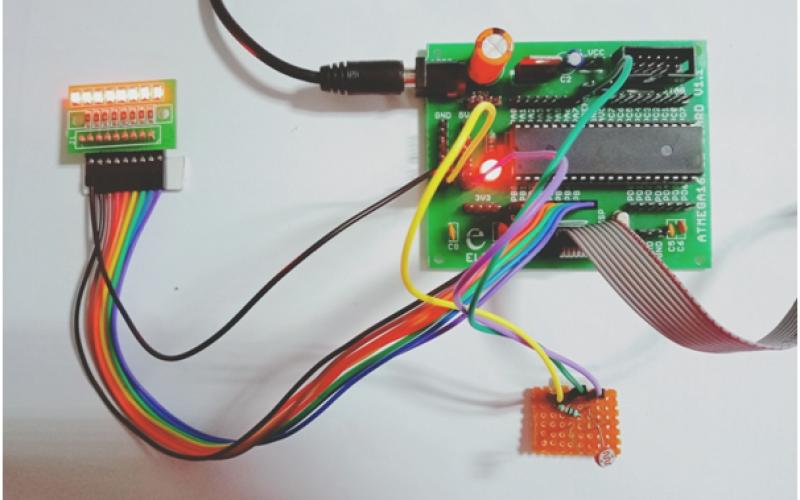 Interfacing LDR Sensor In Atmega16/32