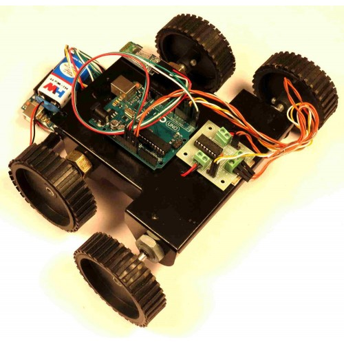 Bluetooth based accelerometer controlled robot using arduino