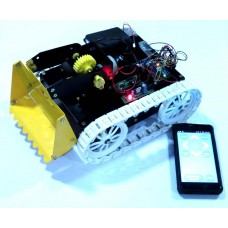 DUMPSTER ROBOT-Arduino and Bluetooth Based