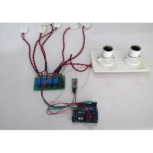 Arduino and bluetooth based home automation system