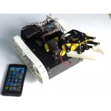 Bluetooth Controlled PICK & PLACE ROBOT -Arduino and Android App based