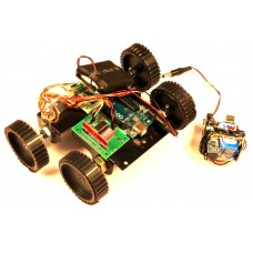 RF Based ACCELEROMETER  Controlled Robot Using Arduino