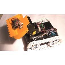 RF Controlled DUMPSTER ROBOT Using Arduino