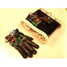 Flex Sensor Based RF Controlled All Terrain Robot Using Arduino
