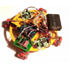 RF Controlled OMNI-DIRECTIONAL ROBOT Using Arduino