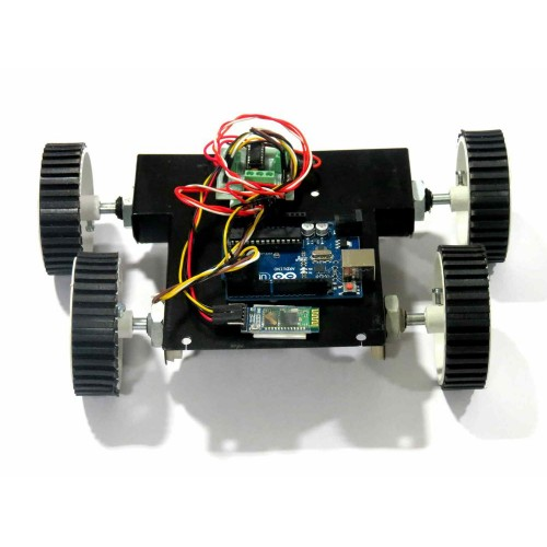 Voice controlled robot arduino and bluetooth based