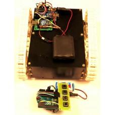 ZigBee Controlled All Terrain Robot Using Arduino