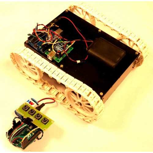 Zigbee controlled all terrain robot using arduino