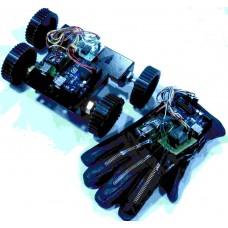 Flex Sensor Based HAND GESTURE ROBOT Using Arduino & ZigBee