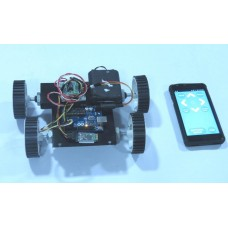 Bluetooth Controlled Robot-Arduino and Android App Based