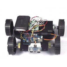 Human Follower Robot-Arduino Based