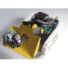ZigBee Controlled Dumpster Robot-Arduino Based