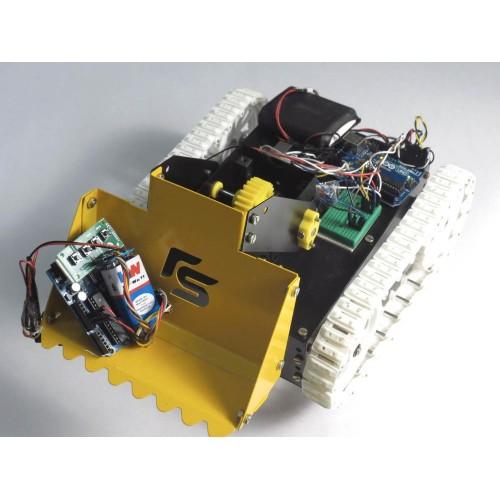 Zigbee controlled dumpster robot arduino based