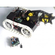 ZigBee Controlled PICK & PLACE ROBOT -Arduino Based