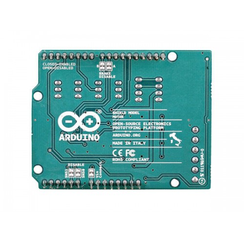 Arduino motor shield rev