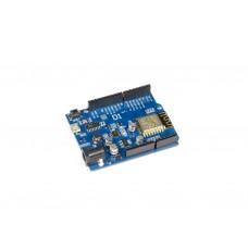 WeMos D1 R2 WiFi ESP8266 Development Board ESP-12E Compatible with Arduino UNO Shields & Programmable using Arduino IDE