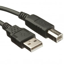 USB A to B Cable (Printer Cable) 1.5m