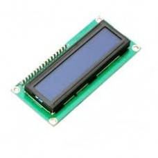 16x2 LCD Display (Blue Backlight)