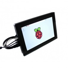Waveshare 10.1 inch HDMI LCD (B) Capacitive Touch Screen Display Shield Panel for Raspberry Pi / BBB / PC (with Case)