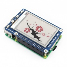 2.7 Inch 3 colour E-Paper Display Hat (B) For Raspberry Pi
