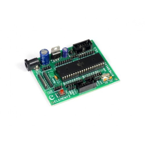 Atmega162 Project Development Board with Microcontroller IC