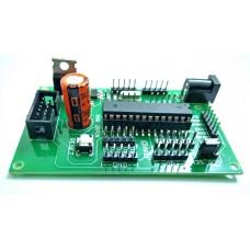 AVR ATMEGA 28pin Project Board with ATMEGA8 / ATMEGA328 / ATMEGA328P IC