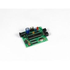 AVR ATMEGA 28pin Mini sized Project Board with ATMEGA8 / ATMEGA328 / ATMEGA328P