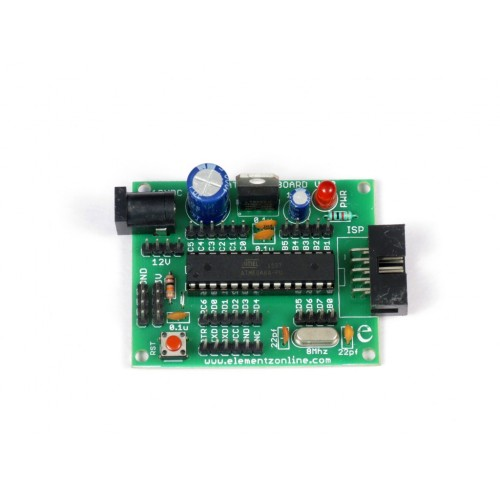 AVR ATMEGA 28pin Mini sized Project Board with ATMEGA8
