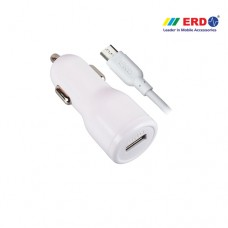 ERD CC 40 Micro USB White Car Charger