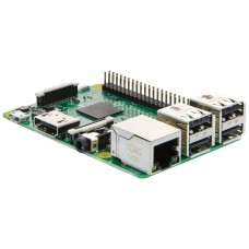 Raspberry Pi 3 Model B - Complete Starter Kit (RPi 3, Case, Adapter, NOOBS Card, HDMI, LAN)