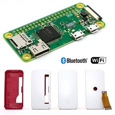 RASPBERRY PI ZERO W (WIRELESS) KIT - RPI-ZERO-W, Case, Adapter, NOOBS, miniHDMI to HDMI Converter, OTG Cable