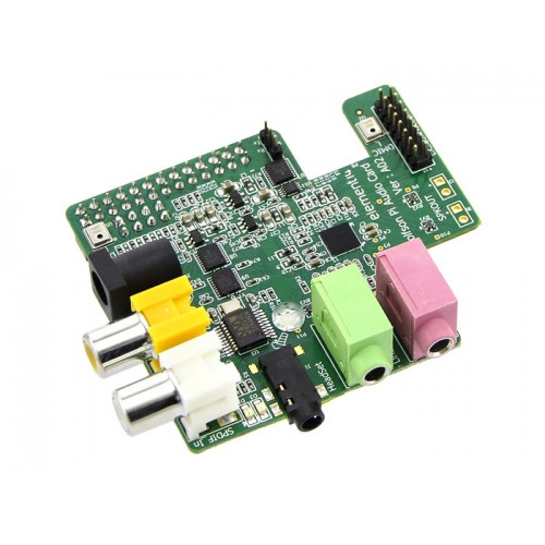 Wolfson Microelectronics Audio Card For Raspberry Pi