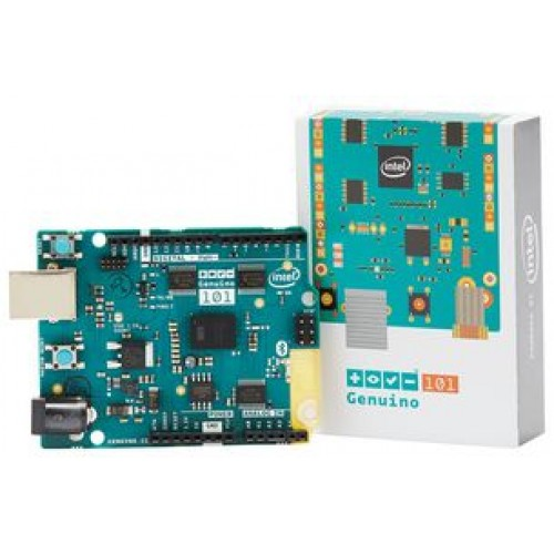 Intel Curie MCU Development Board, Bluetooth LE Capabilities, 6-Axis  Accelerometer/Gyroscope-Genuino 101