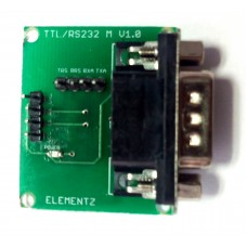 MAX3232 RS232 TO TTL CONVERTER MODULE with DB9 MALE CONNECTOR (3.3V & 5V compatible)