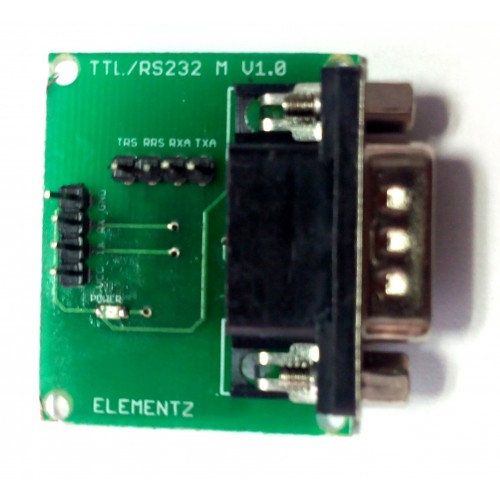 MAX3232 RS232 TO TTL CONVERTER MODULE with DB9