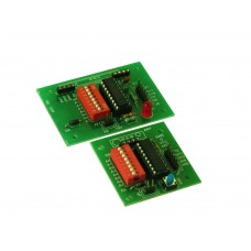 RF BOARD ENCODER AND DECODER with HT12D & HT12E IC
