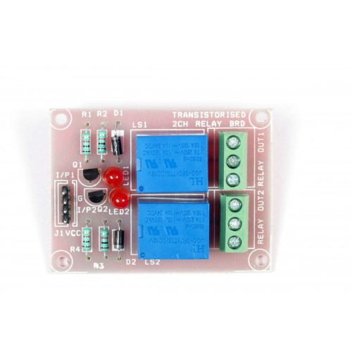TWO CHANNEL 2CH 12V RELAY BOARD CONTROLLABLE