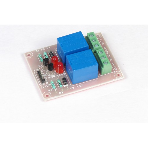 TWO CHANNEL 2CH 12V RELAY BOARD CONTROLLABLE ... on