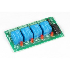 FOUR CHANNEL 4CH ULN2003 BASED 12V RELAY BOARD
