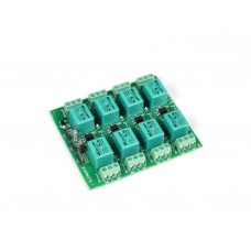 8-Channel Relay Board with Optocoupler