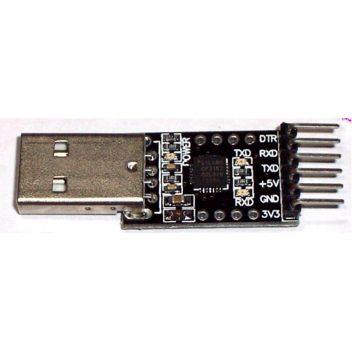 CP2102 USB to TTL Module with DTR pin (Can work as Arduino Programmer)