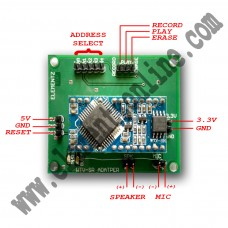 WTV040 Sound Record and Play  back module