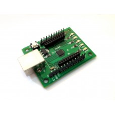 XBee/ZigBee Adaptor Board with USB Interface