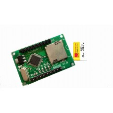 microSD Memory Card Audio / Sound Play Back 5V UART Serial Communication Module