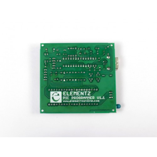 USBPICPROG PIC USB ICSP Programmer with ZIF socket Flasher