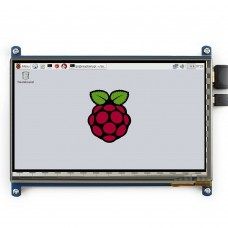 7 inch Capacitive Touch Screen LCD(C) 1024x600 HDMI Interface Display Shield Panel for Raspberry Pi / BBB / PC
