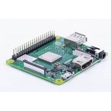 Raspberry Pi 3 Model A+ - With 1.4GHz 64 bit Quad Core processor, Dual Band WiFi / wireless LAN and Bluetooth 4.2 BLE