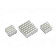 Raspberry Pi Heat Sinks 3pcs Kit for RPi3 RPi2
