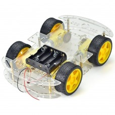 4WD Four Wheel Drive Smart Robot Car Chassis DIY kit