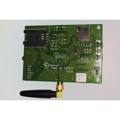 SIM7600E 4G/3G/2G GSM MODEM MODULE WITH SMA ANTENNA (TTL AND